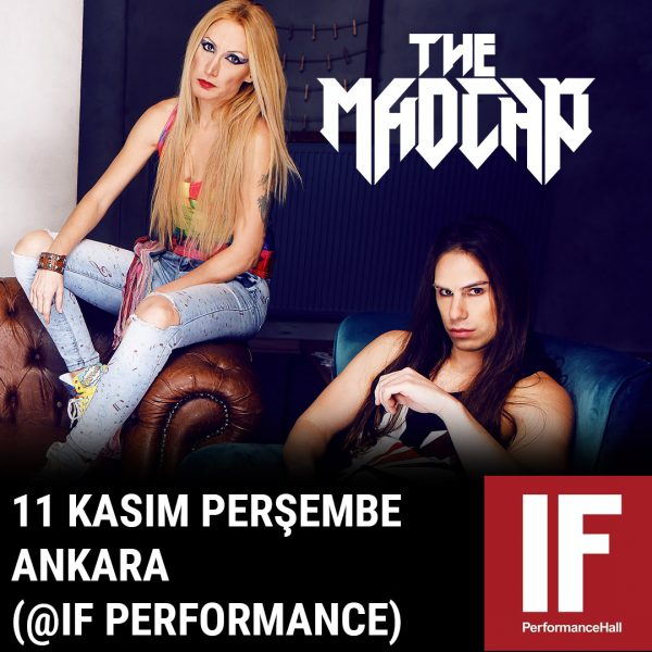 The Madcap Ankara If Performance Hall VIP